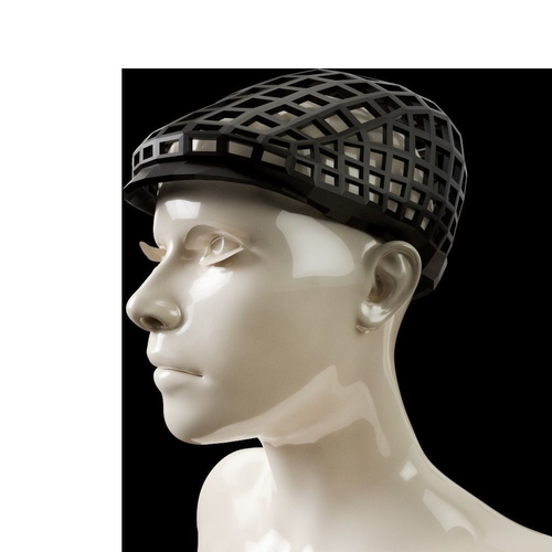 newsboy gls hat 3d model obj mtl 1