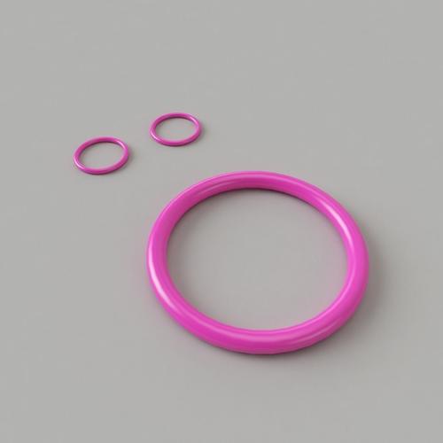 bangle-earrings 3d model obj mtl 1