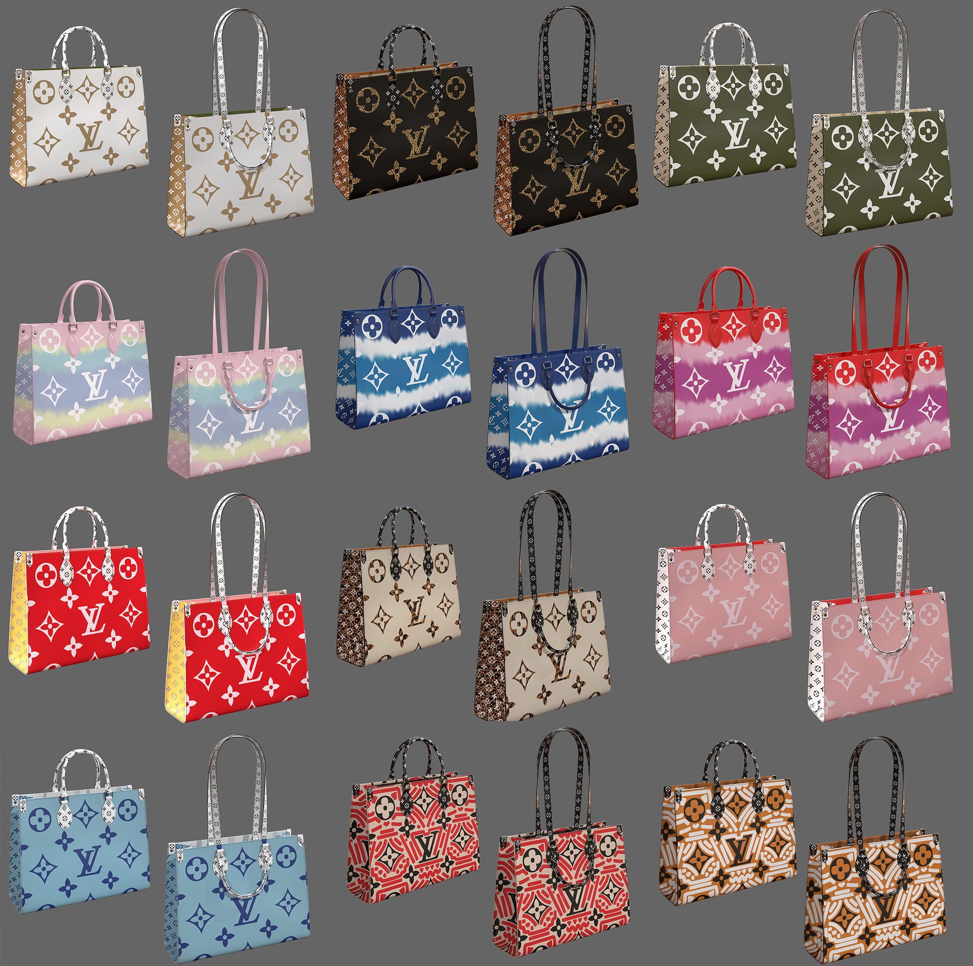 Louis Vuitton Onthego 12 Bags