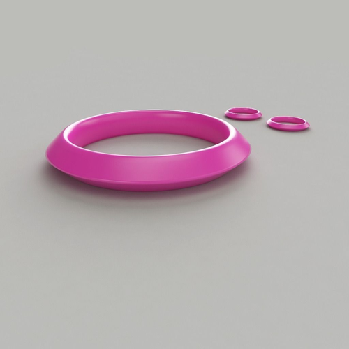 bangle-earrings 3d model obj mtl 1