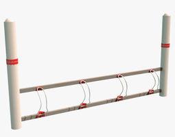 3D asset Bike Rack