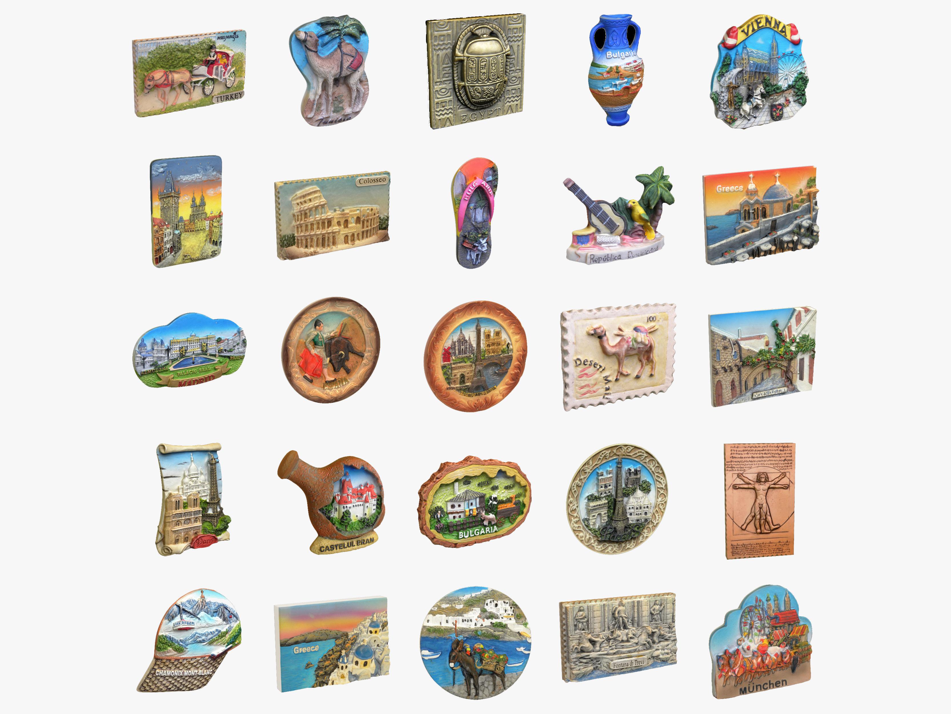 Souvenir Magnets Collection