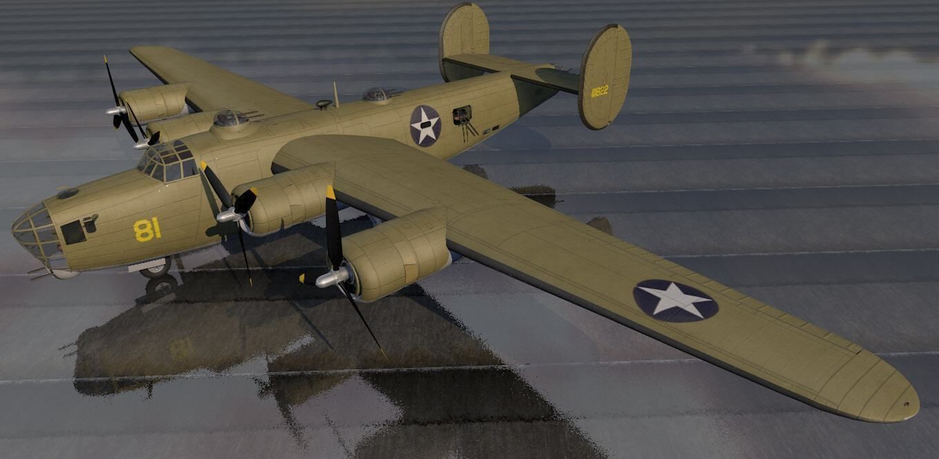 Consolidated XB-41 Escort Fighter
