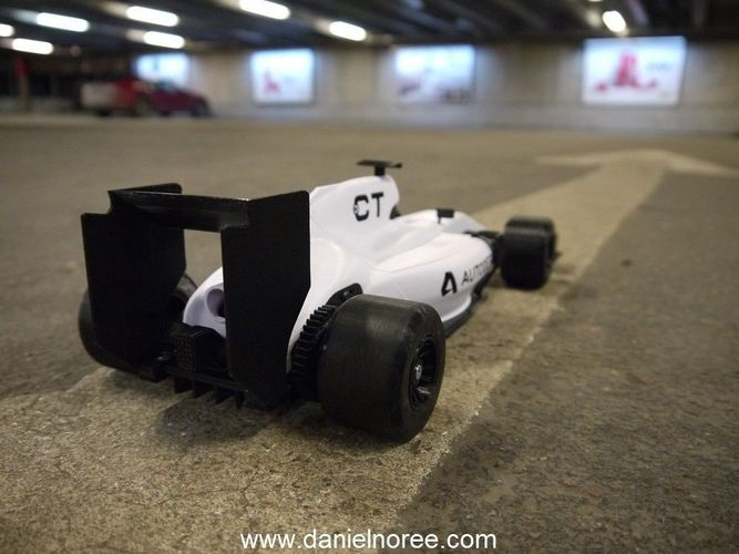 openrc formula 1 car 3d model stl 3