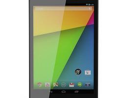 google nexus 7 2013 3d model max obj fbx c4d