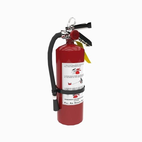 fire extinguisher  3d model fbx ma mb 1