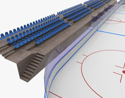 3D model Ice Hockey Rink