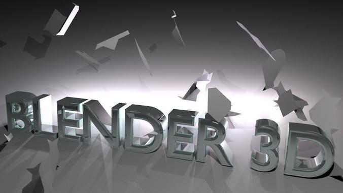 3D logo blender | CGTrader