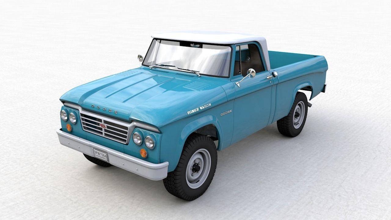 DODGE POWER WAGON SINGLE CAB 1964
