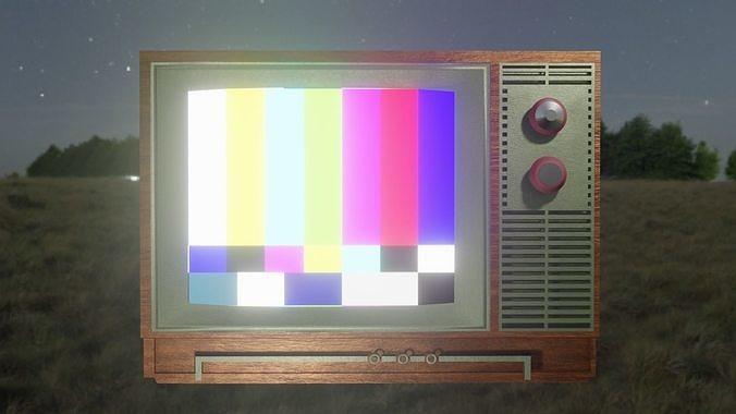 Old Television - TV Retro