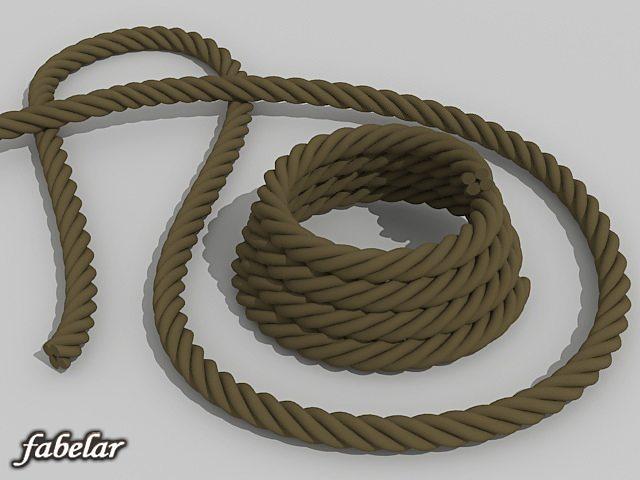 ropes 3d model max 1