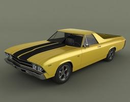 3D Chevrolet El Camino 1969