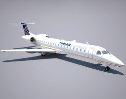 3D asset Embraer 145