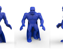 Mexican Wrestler Blue Demon 3D printable model