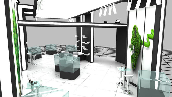 Exhibition Stand Design 3d Max : B m exhibition stand design d model max ds dwg chr