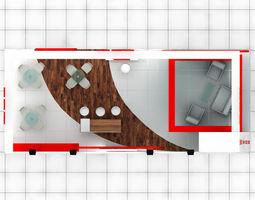 3D B-M Exhibition Stand Design 3