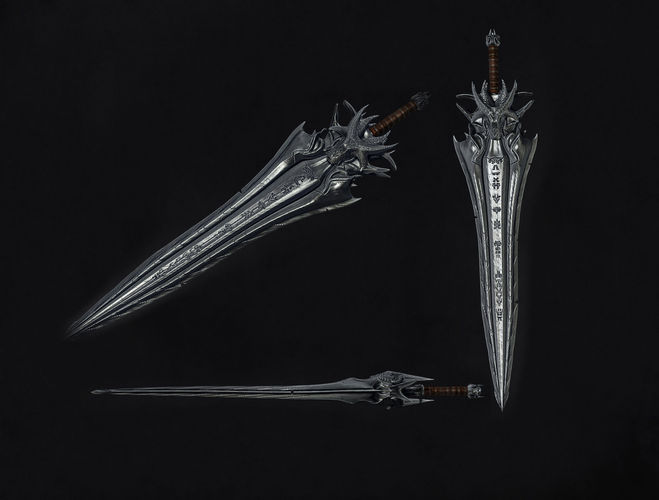 3D model Dragon Sword | CGTrader