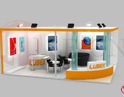 belgin exhibition design 3d model