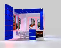 bemaktherm exhibition stand design 3d