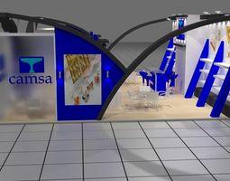 3d camsa exhibition design