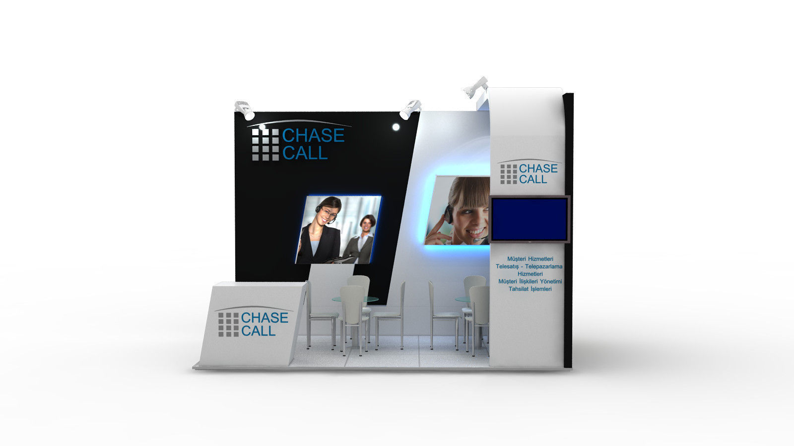 Chasecall Exhibition Design