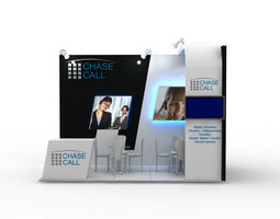chasecall exhibition design 3d
