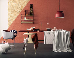 3D Elle Decoration Scene