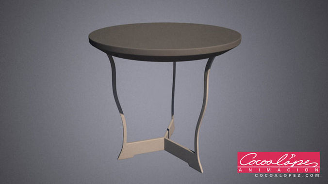 Three Legged Restaurant Table