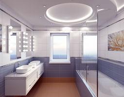 3D model bathroom Bathroom