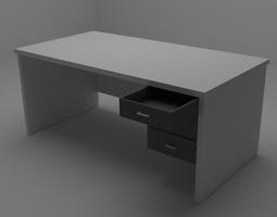 3D model Simple Desk