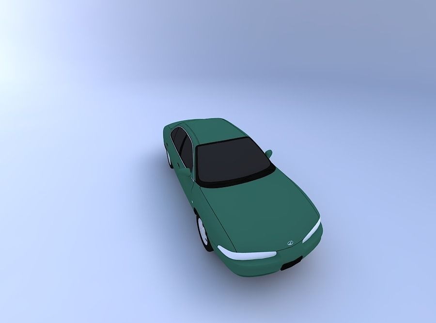 Olds Intrigue 99 3D Model