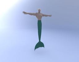 Mermonster 3D Model
