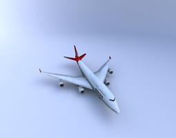 3D model Boeing 747 Aircraft