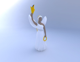 3D Christmas Angel