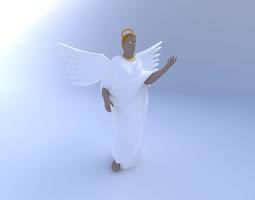 Angel 3D model female