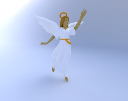 3D model Christmas Angel