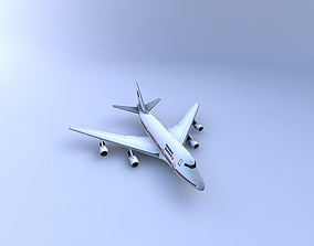 747-SP Aircraft 3D model