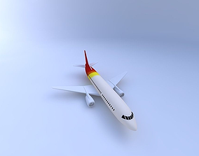 3D model 737-300 Commercial Jetliner w Texture
