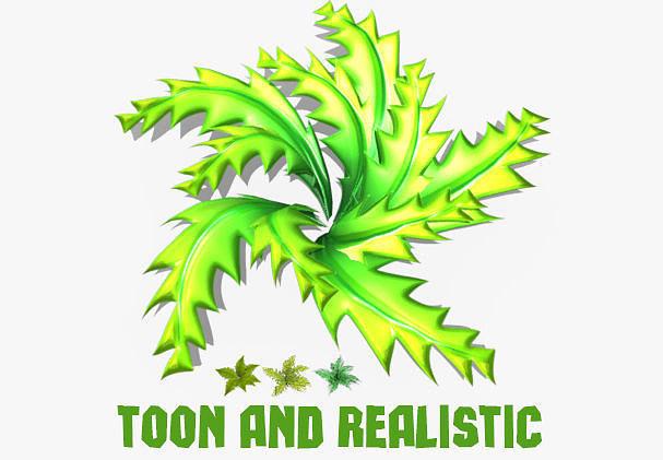 fern shrubs toon and realistic 3d model low-poly max obj fbx mtl tga mat 1