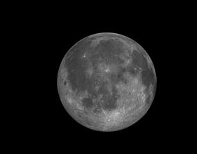 3D model Moon Realistic