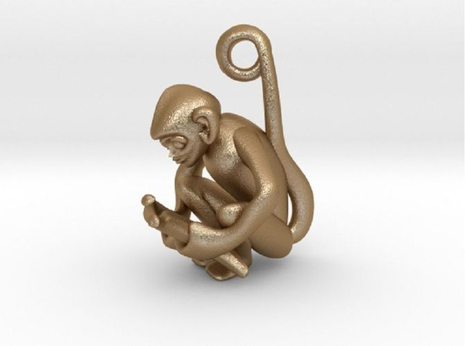 3d-monkeys 338 3d model stl 1