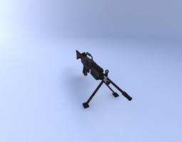 3D M249 squad automatic weapon