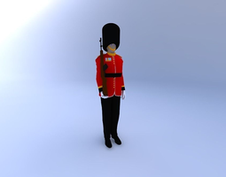 Buckingham Palace Guard 3D