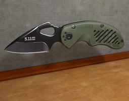 Modern Pocket Knife Military 3D