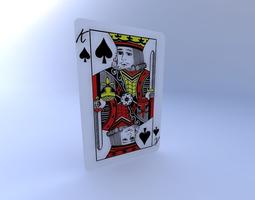 3D King of Spades