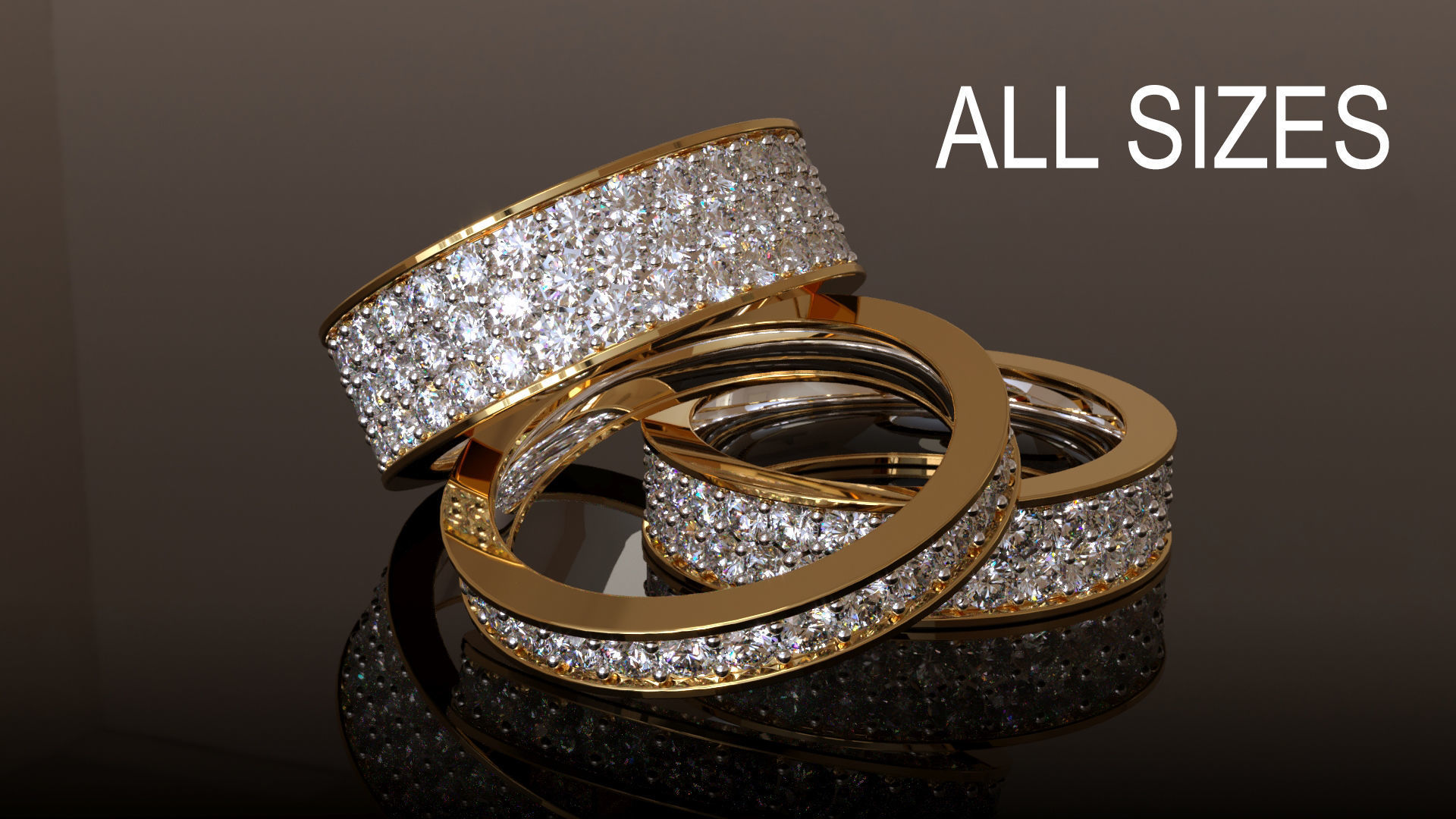 Infinity Ring Collection All sizes