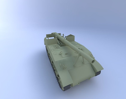 3D M12 King Kong Tank 155 mm