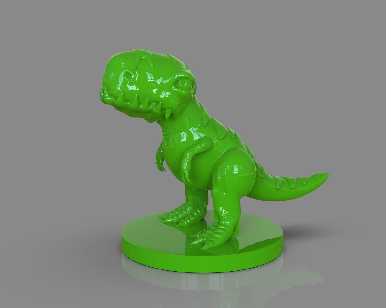 Stylized Dinosaur T Rex