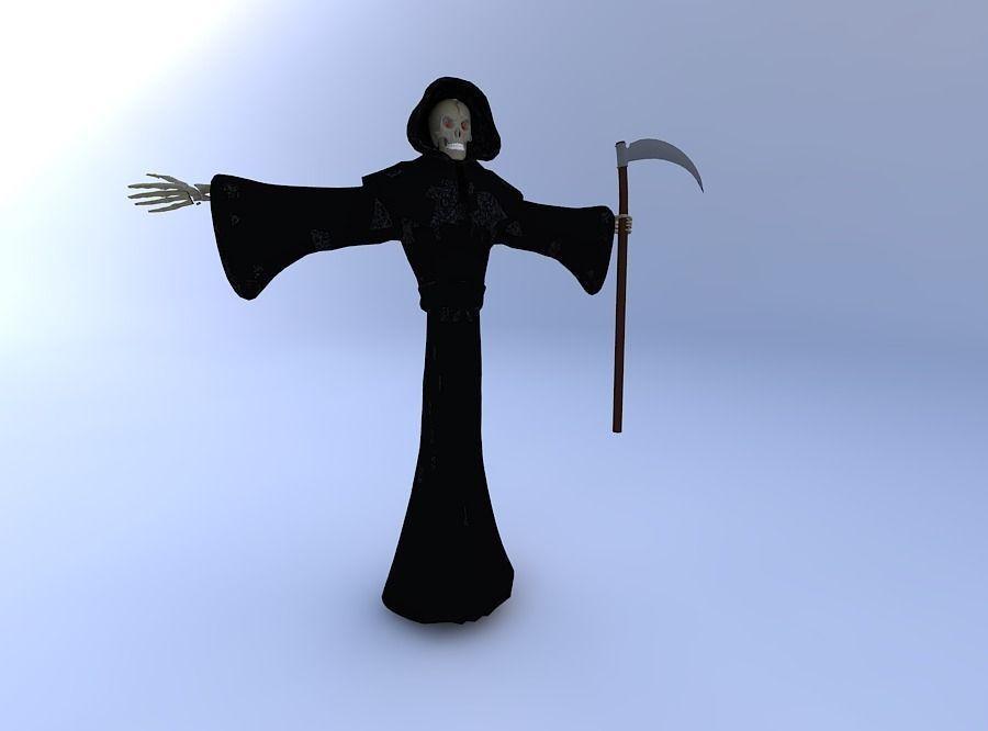 Grim Reaper Neutral Position w texture