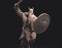 Viking Zbrush Sculpt 3D